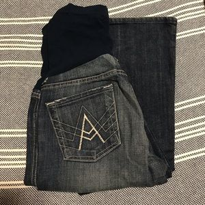 Seven maternity boot cut jeans